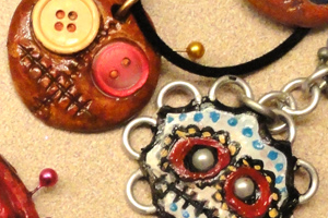 Voodoo and Day of the Dead jewelry