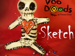 Sketch – Day of the dead voodood 5